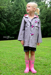 Oliver + S, School Days Jacket (FrancesSuzanne) Tags: francessuzanne olivers oliverands schooldaysjacket raincoat laminate sewing schooldays