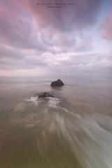 Entre agua y nubes (Isabel Asurmendi) Tags: mar sea longexposure isabelasurmendi tarifa cadiz nwn