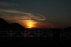 Gau (rosa_rusa) Tags: rosarusa donostia euskadi paseodelaconcha sansebastian espaa spain sunset noche gau