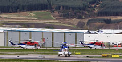 G-XCII S-92, Aberdeen (wwshack) Tags: abz aberdeen aberdeenairport bristow bristowhelicopters chchelicopters chcscotia dyce egpd offshorehelicopter s92 scotland sikorsky helicopter northseaoilrigsupport offshorehelicopters oilrigflights gxcii