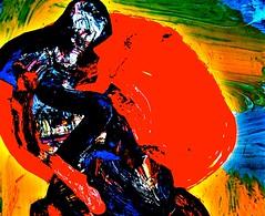 "DSC_3593. ""sangre deramada sobre la arena"" /bullfight/ (THE ART OF STEFAN KRIKL) Tags: bullfight corida yoros"