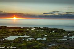 Azkorri.016-2 (fadercini) Tags: azkorri mar atardecer berdin nubes puestadesol rocas sol