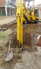 Aguas del Chuno realiza trabajos en arreglos de tuberas (aguasdelchunoep) Tags: aguasdelchuno realiza trabajos arreglos tuberas
