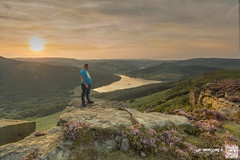 bamford edge selfie 15-8-16 (law-photography2014) Tags: derbyshire yorkshirerose landscape sunset leeward lawphotography leewardatlawphotography canon6d canon1740l bamfordedge bamford