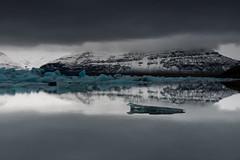 Cloud Cover (Marshall Ward) Tags: jkulsrln iceland ice icebergs icebeach marshallward nikond800 afszoomnikkor2470mmf28ged 2015 landscape seascape winter europe