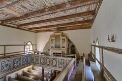 Orgel und Empore in der Dorfkirche Fahrenwalde (Satho73) Tags: architektur deutschland empore fahrenwalde herkunft kirche mecklenburgvorpommern orgel