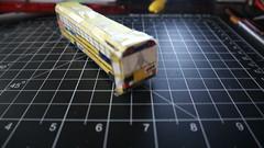 Model X139 (Etienne Luu) Tags: ic re paper cardstock model school bus