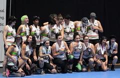 WFTDA Montreal: Closing ceremonies (Sept 4 2016) (RicLaf) Tags: derby rollerderby wftda d1playoffs playoffs montreal canada awards goldmedal bronzemedal silvermedal london londonrollergirls texas texasrollergirls montrealrollerderby