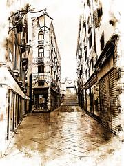 Venecia, Venice Streets 013 (www.ignaciolinares.com) Tags: venecia venice venezia gondola canales sanmarcos feniche campanile ilduomo eldoge vaporetto veneto italia