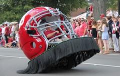 Helmet wheelie (DavidMethvinPierce) Tags: football helmet bama alabama