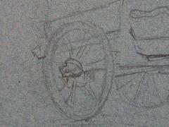 GAUGUIN - Charrette tire par un Cheval et Paysanne portant un Panier (drawing, dessin, disegno-Louvre RF29877.40) - Detail 08 (L'art au prsent) Tags: drawing dessin disegno personnage figure figures people personnes art painter peintre details dtail dtails detalles 19th 19e dessins19e 19thcenturydrawings 19thcentury detailsofdrawing detailsofdrawings croquis tude study sketch sketches paulgauguin paul gauguin louvre charrette cart carriage cheval horse animal paysanne peasant farmer panier basket jeunefemme youngwoman youngwomen femme woman women jeunesse youth painting aquarelle color couleur watercolor