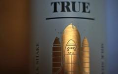 Wiper and True Stout Milk Shake (Benn Gunn Baker) Tags: beer true st canon bristol gold milk baker space label ashley down brewery shuttle shake benn gunn stout wiper werburghs 550d t2i