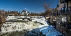 Almonte's Lovely River Walk : April 3, 2015 (jpeltzer) Tags: mississippiriver almonte ottawavalley