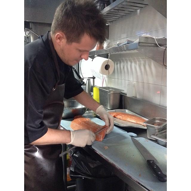 #salmon fillet 🐟