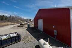 A wide view of Barn with part of Greenhouse in frame (ed dittenhoefer photo) Tags: coltivare farmtobistro tc3barn
