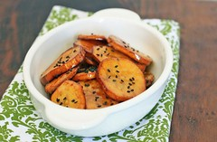 [Korean Recipes] Sweet Potatoes with Almond Syrup (asianrecipes) Tags: recipes