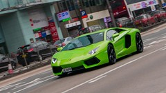 Lamborghini Aventador LP 700-4 (ChesterC Photography) Tags: auto city horse black sexy green sports car sport monster lens hongkong power rich fast lp kit expensive  lamborghini supercar v12 smd m43 7004 gx1 1442mm aventador