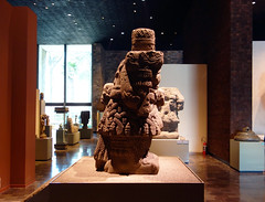 Coatlicue (profile), c. 1500, Mexica (Aztec)