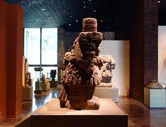 Coatlicue (profile), c. 1500, Mexica (Aztec)