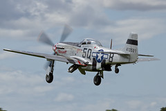 North American P-51D Mustang - 3 (NickJ 1972) Tags: aviation airshow mustang p51 2014 northamerican marinell sywell 413521 gmrll 5qb