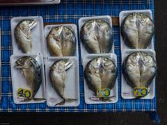 Fisch verpackt in Trat (Thailand)