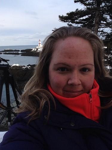 Lighthouse selfie!