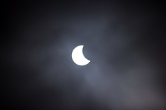 Solar Eclipse, Germany, 20.03.2015 (betadecay2000) Tags: street sky sol fog mond march solar parkinglot nebel foggy himmel grau autobahn astronomy sonne märz solareclipse astronom sonnen 2015 astrologie sonnenfinsternis neblig finsternis partiell partielle hochnebel kosmologie partiellesonnenfinsternis astrolgy astronomischesereignis
