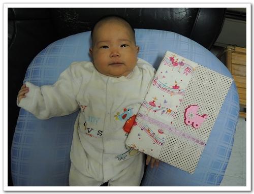 《幸福‧DIY》寶寶手冊布書衣(免縫版)