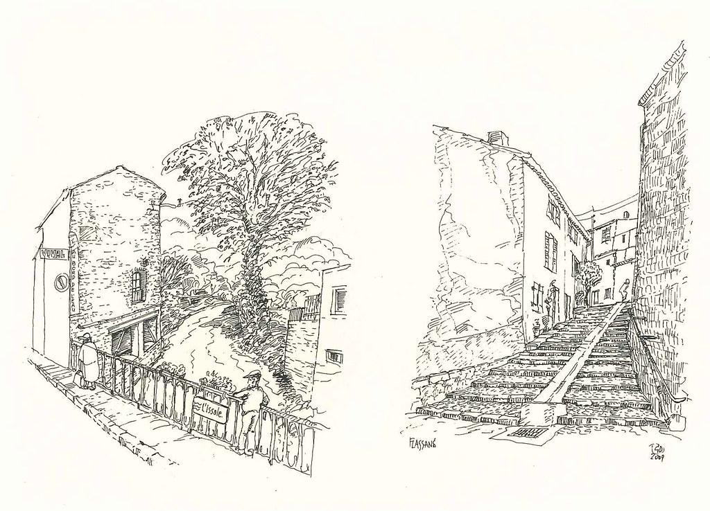 Escalier Saint Michel et Pont Neuf