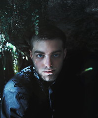 Josh (Houston Roderick) Tags: portrait nature water dark moss cool moody portraiture cave