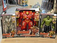 Recent Arrivals  Hasbro  Marvel Avengers  Age of Ultron  Titan Hero Tech Figures (My Toy Museum) Tags: tech action age hero figure arrival marvel titan recent avengers arrivals hasbro ultron