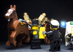 A parking ticket?! (mortified_penguin) Tags: lego minifigs minifigures toyphotography lego365