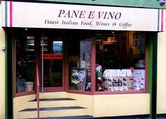 Cibo e vini italiani in Irlanda