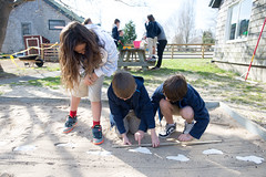 Third Grade Laetoli Footprints (Ross School) Tags: school 3 students outside outdoors ross student footprints grade explore math third mathematics lower measure footprint learn 3rd mathematicians grade3 measurements laetoli lowerschool rossschool rosslowerschool