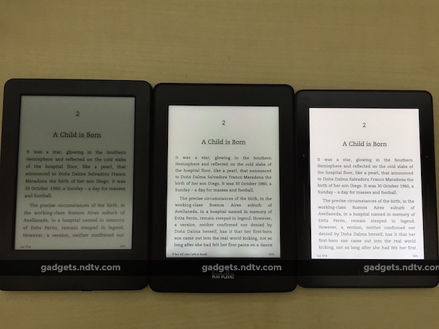 Amazon Kindle Voyage Review: The Rolls-Royce of Ebook Readers – NDTV