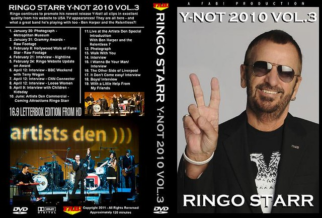 Ringo Starr Y Not 2010 Vol 3