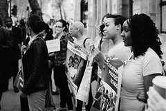 Bring Back Our Girls London Campaign (Foto John) Tags: leica people london film campaign leicam7 campaigners fujineopan400cn summicronm35mmf2asph nigeriahighcommission bringbackourgirls