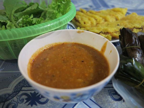 3Từ món chẻo truyền thống, người ta biến đổi món chẻo làm nước chấm cho món, bánh xèo, bánh khoái,..