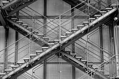 # Street Photography 2 (Julien.Do) Tags: urban paris france monochrome architecture noir emotion centre infrastructure et pompidou extrieur blanc marche batiment urbain urbanisme poutre mtallique esclier