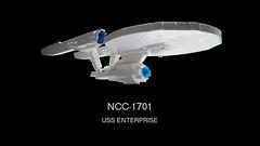 USS Enterprise with instructions (hachiroku24) Tags: trek star lego spaceship enterprise moc afol 1701