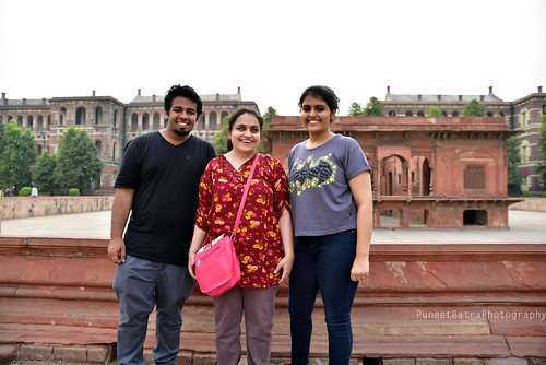 Smiling buddies at Accessible Heritage Tour of Red Fort