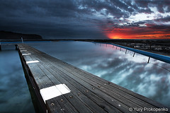 Narrabeen Sunrise (renatonovi1) Tags: narrabeen sunrise pool ocean sydney australia