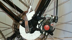 Sturmey Archer X-RDC fitting test: fork mount (gunnsteinlye) Tags: bicycle norway quest recumbent skien cruzbike