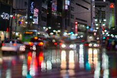 droplets -  (turntable00000) Tags: extrabokeh droplet water rain shibuya tokyo japan light night bokehlicious