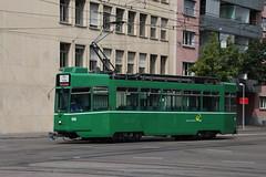 488 (KennyKanal) Tags: tram grn schindler waggon bvb pratteln basler cornichon verkehrsbetriebe schienenfahrzeug drmmli
