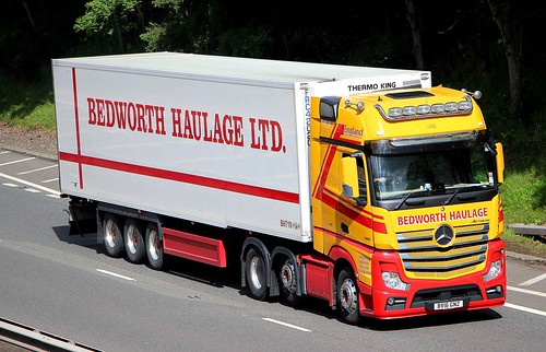 MB Actros MP4 - BEDWORTH HAULAGE Coventry
