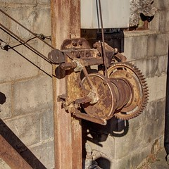 crank it Rusty (photography_isn't_terrorism) Tags: rusty rusted rusting crank hoist geared manuallabor oldfashioned