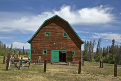 the AA Barn (eDDie_TK) Tags: rural colorado barns co grandlake rurallife ruralliving grandcounty grandlakeco grandcountyco