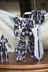 Sword (Jon..Hall) Tags: scale transformers oversized upgrade masterpiece shrapnel insecticon skywarp nerorex