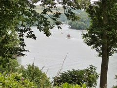 "The River Dart from the gardens of ""Greenway"" in Devon. The home of Agatha Christie (DEE VEE 40) Tags: greenway nationaltrust riverscene"